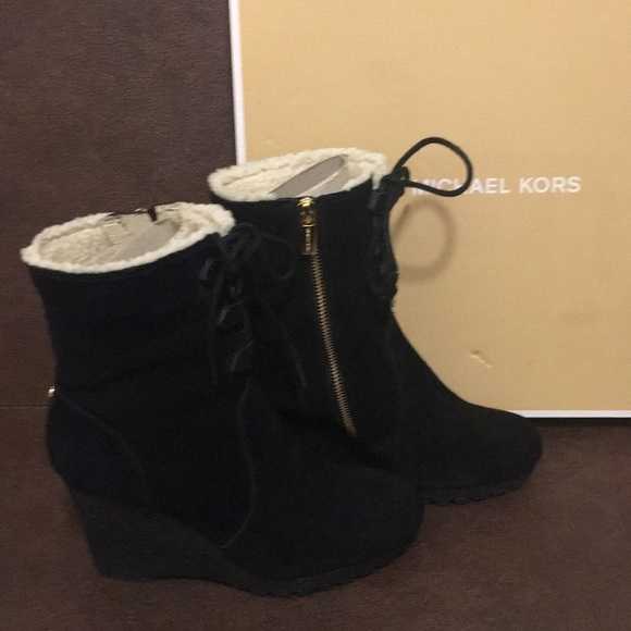 Michael Kors Shoes - Michael Kors Rory Boot Suede size 7.5 M